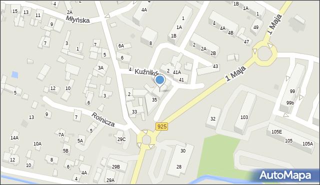 Ruda Śląska, 1 Maja, 39, mapa Rudy Śląskiej