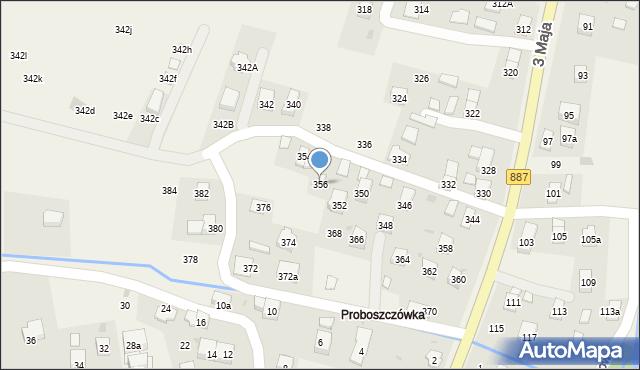 Posada Górna, 3 Maja, 356, mapa Posada Górna