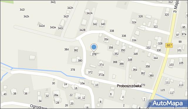 Posada Górna, 3 Maja, 376, mapa Posada Górna