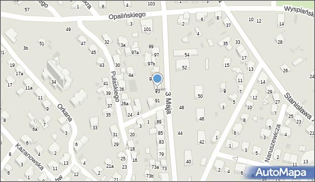 Przemyśl, 3 Maja, 93, mapa Przemyśla