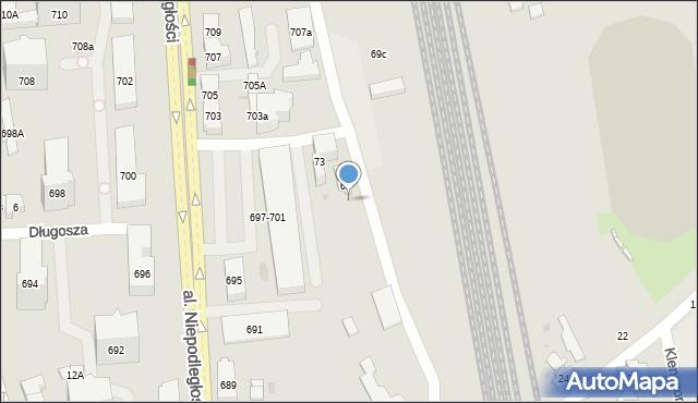 Sopot, 3 Maja, 69a, mapa Sopotu