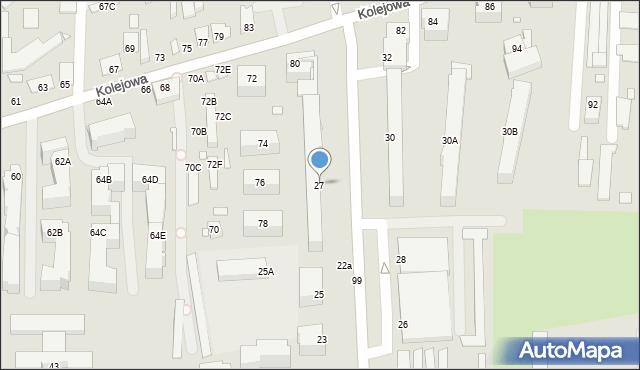 Chełm, Aleja Piłsudskiego Józefa, marsz., 27, mapa Chełma