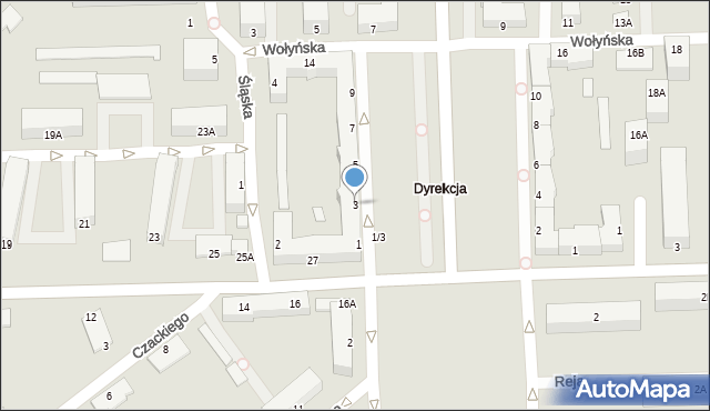 Chełm, Aleja Piłsudskiego Józefa, marsz., 3, mapa Chełma