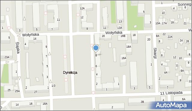 Chełm, Aleja Piłsudskiego Józefa, marsz., 8, mapa Chełma