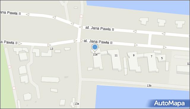 Gdynia, Aleja Jana Pawła II, 11a, mapa Gdyni