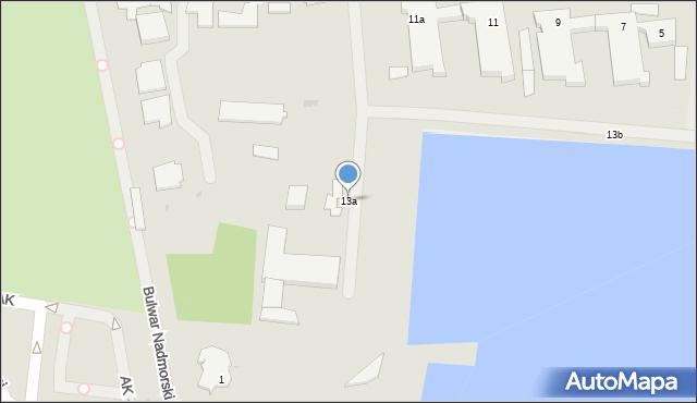 Gdynia, Aleja Jana Pawła II, 13a, mapa Gdyni
