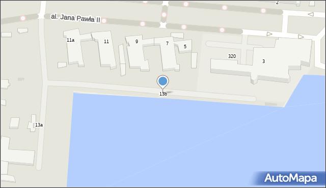 Gdynia, Aleja Jana Pawła II, 13b, mapa Gdyni