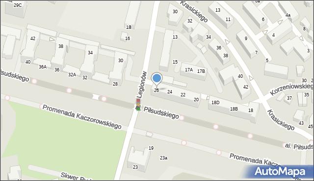 Gdynia, Aleja Piłsudskiego Józefa, marsz., 26, mapa Gdyni