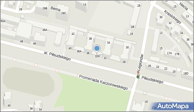 Gdynia, Aleja Piłsudskiego Józefa, marsz., 32A, mapa Gdyni