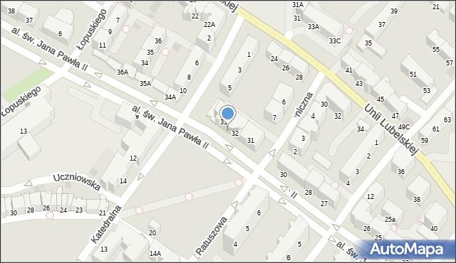 Kołobrzeg, Aleja św. Jana Pawła II, 32b, mapa Kołobrzegu