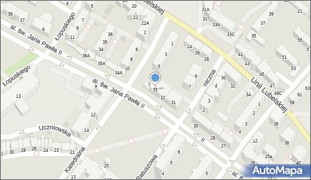 Kołobrzeg, Aleja św. Jana Pawła II, 33, mapa Kołobrzegu