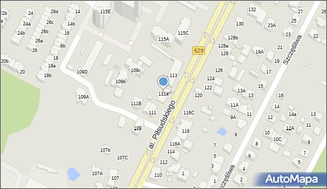 Marki, Aleja Piłsudskiego Józefa, marsz., 111a, mapa Marki