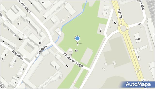 Nysa, Aleja Lompy Józefa, 5, mapa Nysy