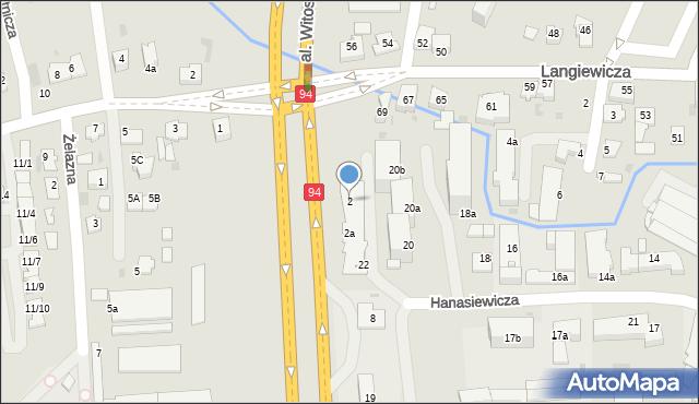 Rzeszów, Aleja Batalionów Chłopskich, 2, mapa Rzeszów