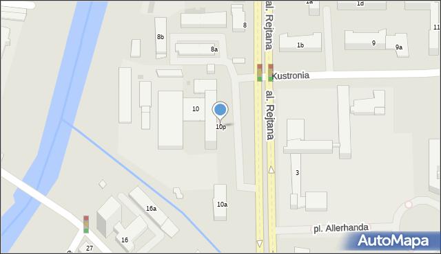 Rzeszów, Aleja Rejtana Tadeusza, 10p, mapa Rzeszów