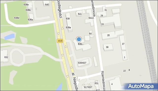 Sopot, Aleja Niepodległości, 637, mapa Sopotu
