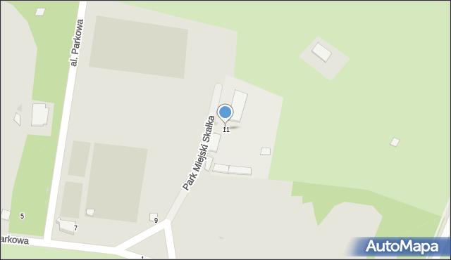 Świętochłowice, Aleja Parkowa, 11, mapa Świętochłowice