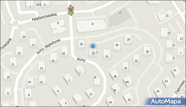Gdańsk, Anny Jagiellonki, 22, mapa Gdańska