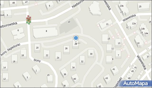 Gdańsk, Anny Jagiellonki, 28, mapa Gdańska