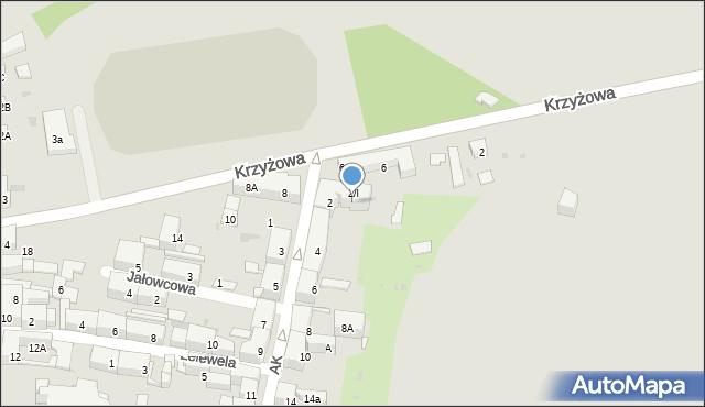 Bytom, Armii Krajowej, 2A, mapa Bytomia