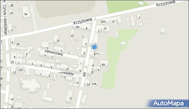 Bytom, Armii Krajowej, 6, mapa Bytomia
