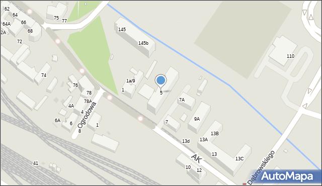 Chorzów, Armii Krajowej, 5, mapa Chorzów