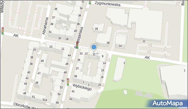 Gdynia, Armii Krajowej, 11, mapa Gdyni