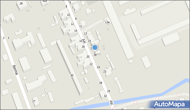 Grudziądz, Armii Krajowej, 19, mapa Grudziądza