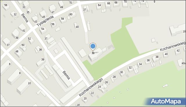Grudziądz, Armii Krajowej, 39, mapa Grudziądza