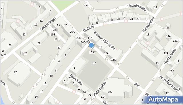 Kołobrzeg, Armii Krajowej, 10A, mapa Kołobrzegu