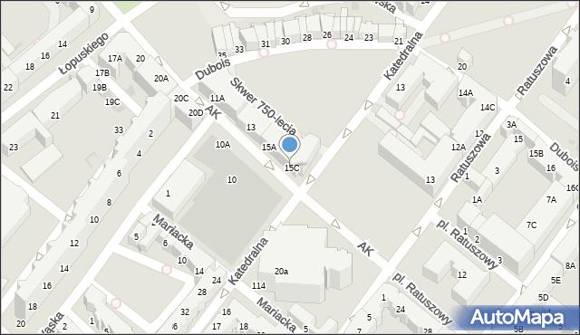 Kołobrzeg, Armii Krajowej, 17, mapa Kołobrzegu