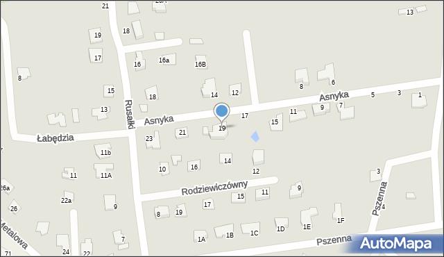 Chełm, Asnyka Adama, 19, mapa Chełma