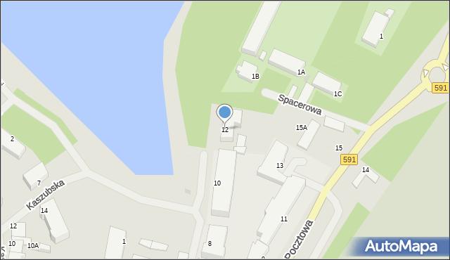 Kętrzyn, Asnyka Adama, 12, mapa Kętrzyn