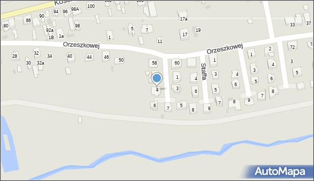 Lubaczów, Asnyka Adama, 4, mapa Lubaczów
