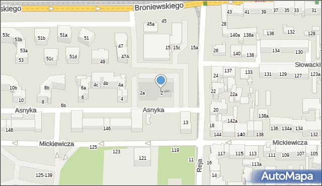 Toruń, Asnyka Adama, 2, mapa Torunia