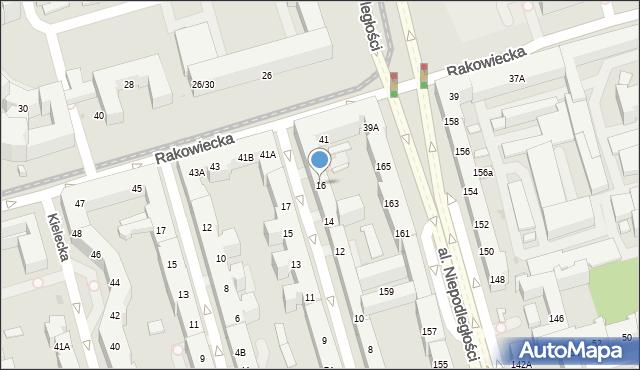 Warszawa, Asfaltowa, 16, mapa Warszawy