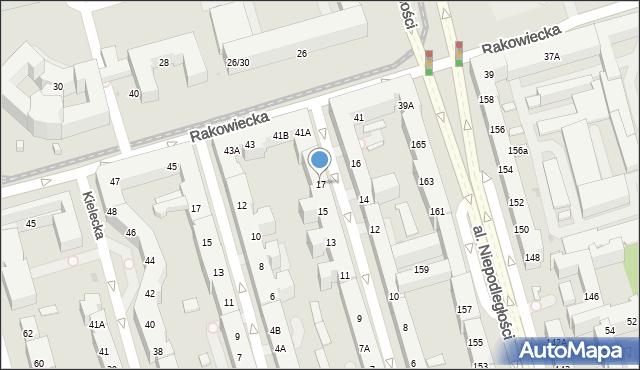 Warszawa, Asfaltowa, 17, mapa Warszawy