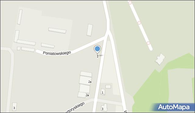 Chełm, Bazylany, 2, mapa Chełma