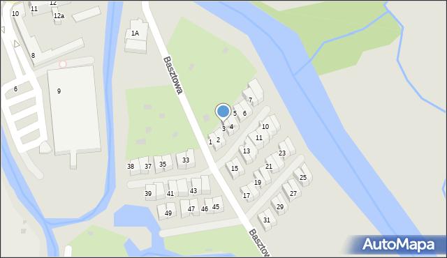 Kołobrzeg, Basztowa, 3, mapa Kołobrzegu