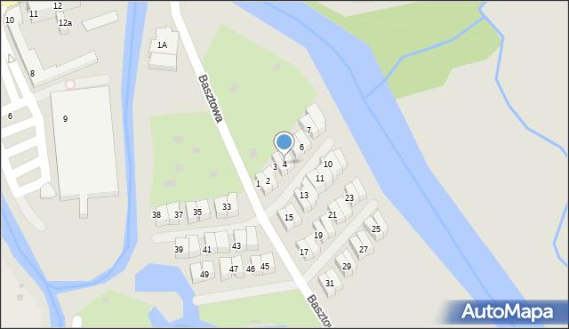 Kołobrzeg, Basztowa, 4, mapa Kołobrzegu
