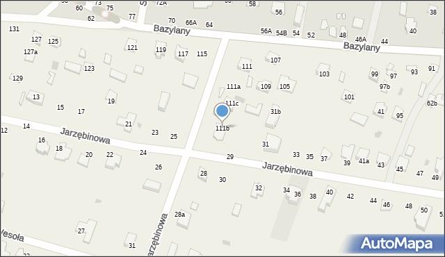 Pokrówka, Bazylany, 111b, mapa Pokrówka