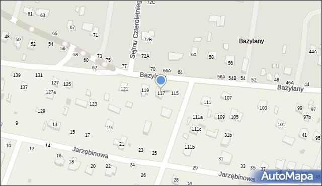 Pokrówka, Bazylany, 117, mapa Pokrówka