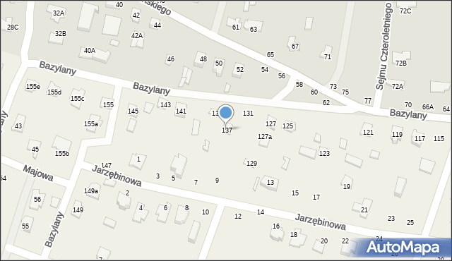 Pokrówka, Bazylany, 137, mapa Pokrówka