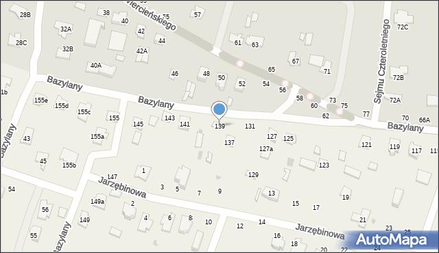 Pokrówka, Bazylany, 139, mapa Pokrówka