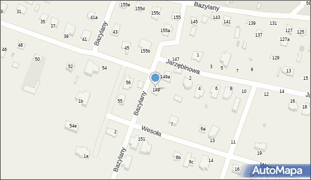 Pokrówka, Bazylany, 149, mapa Pokrówka