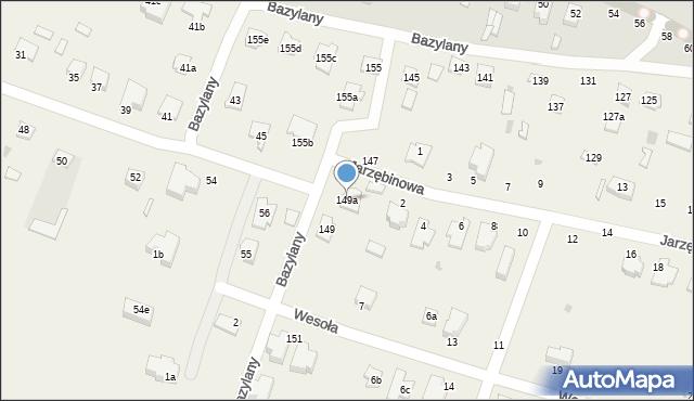Pokrówka, Bazylany, 149a, mapa Pokrówka