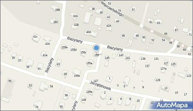 Pokrówka, Bazylany, 155, mapa Pokrówka