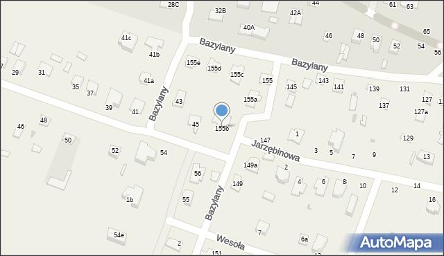 Pokrówka, Bazylany, 155b, mapa Pokrówka