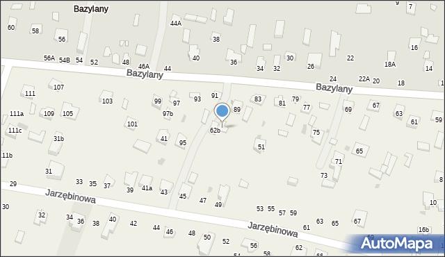 Pokrówka, Bazylany, 87, mapa Pokrówka