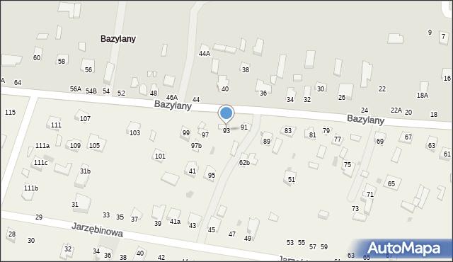 Pokrówka, Bazylany, 93, mapa Pokrówka